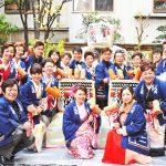 大阪・お初天神のヒット祈願&歌の奉納に20名の歌手が勢揃い